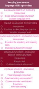 Source language skills