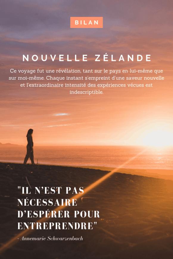 Bilan de mes 4 mois en Nouvelle-Zélande