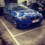 BMW M5 F10 @ workplace of Monserez