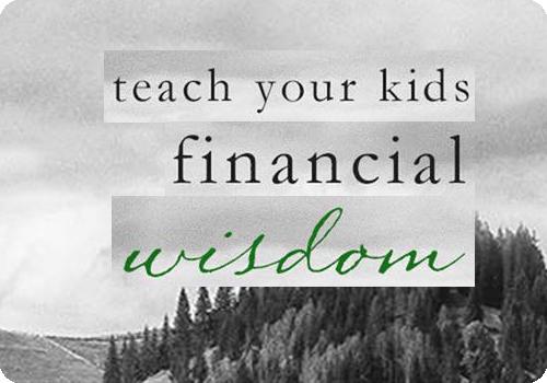 Teach Your Kids Financial Wisdom