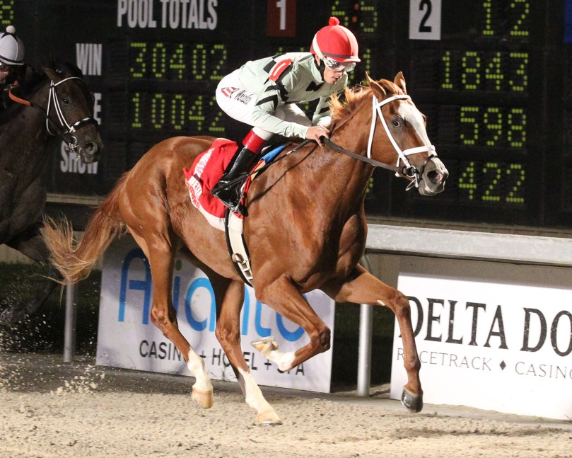 GLADYOUSAWME - The 9th Running Of Louisiana Legacy Stakes - 11-18-17 - R08 - DED-01
