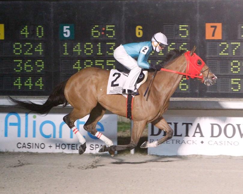 JUST STORMIN - LA Bred Premier Night Gentlemen Starter Stakes - 02-09-19 - R04 - DED-01