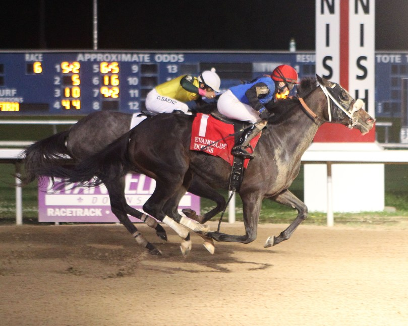 FORTUNE GOT EVEN - Equine Sales Oaks - 05-03-19 - R06 - EVD - Finish 1
