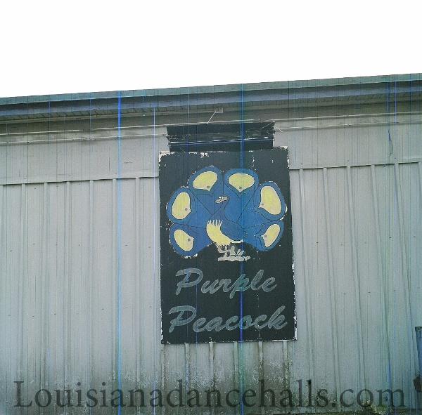 Louisiana Dancehalls Purple Peacock Louisiana Dancehalls