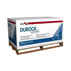 Durock cement board