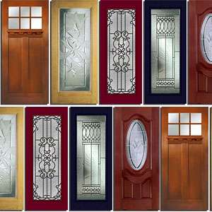 Exterior glass doors