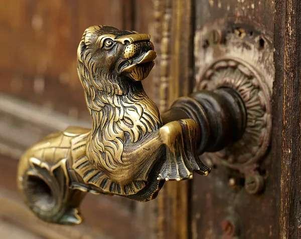 Lion door handle