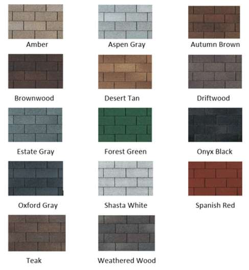 Shingle options