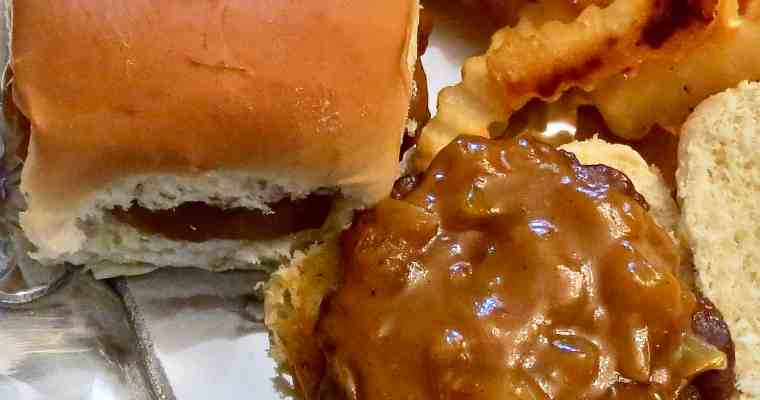 Mustard Barbecue Sauce and Bazaar Burgers