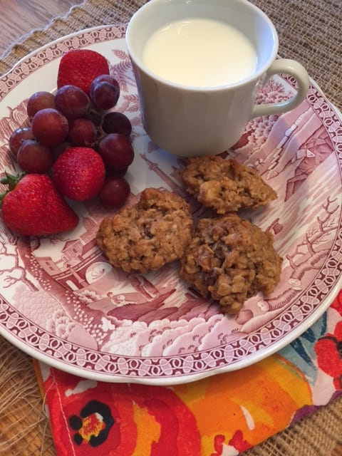 Oatmeal Cookies With Dried Figs