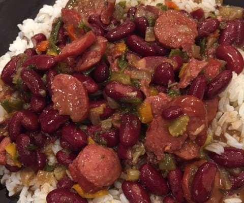 Va Vite Red Beans and Rice