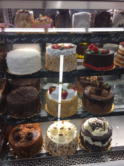 A Small Section Of Rouses Bakery Showcase Accentuating The Here Which One Would You Like