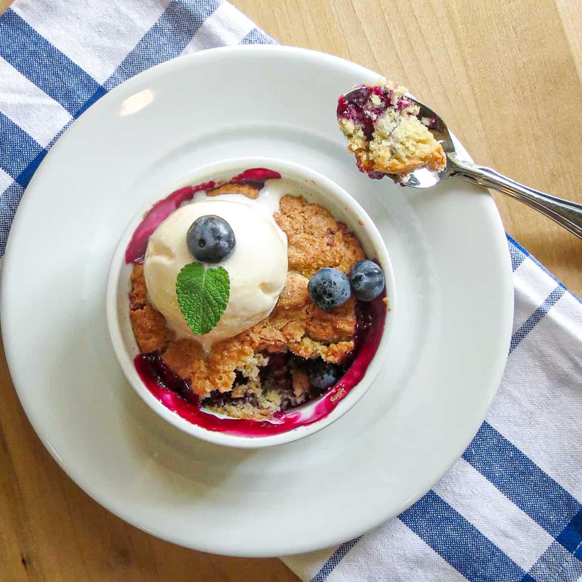 Easy Blueberry Pot Pie