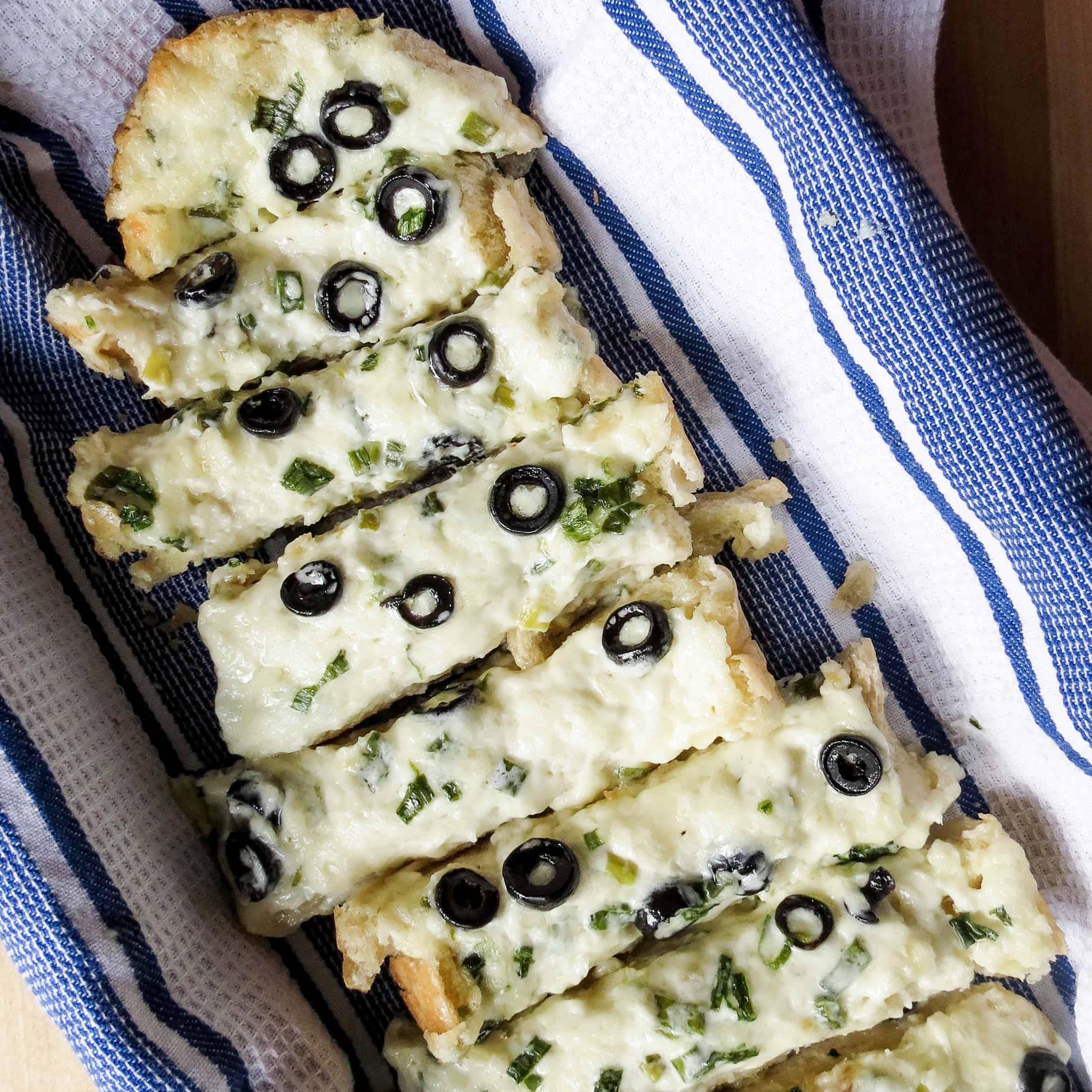 Cheesy Greek Bread