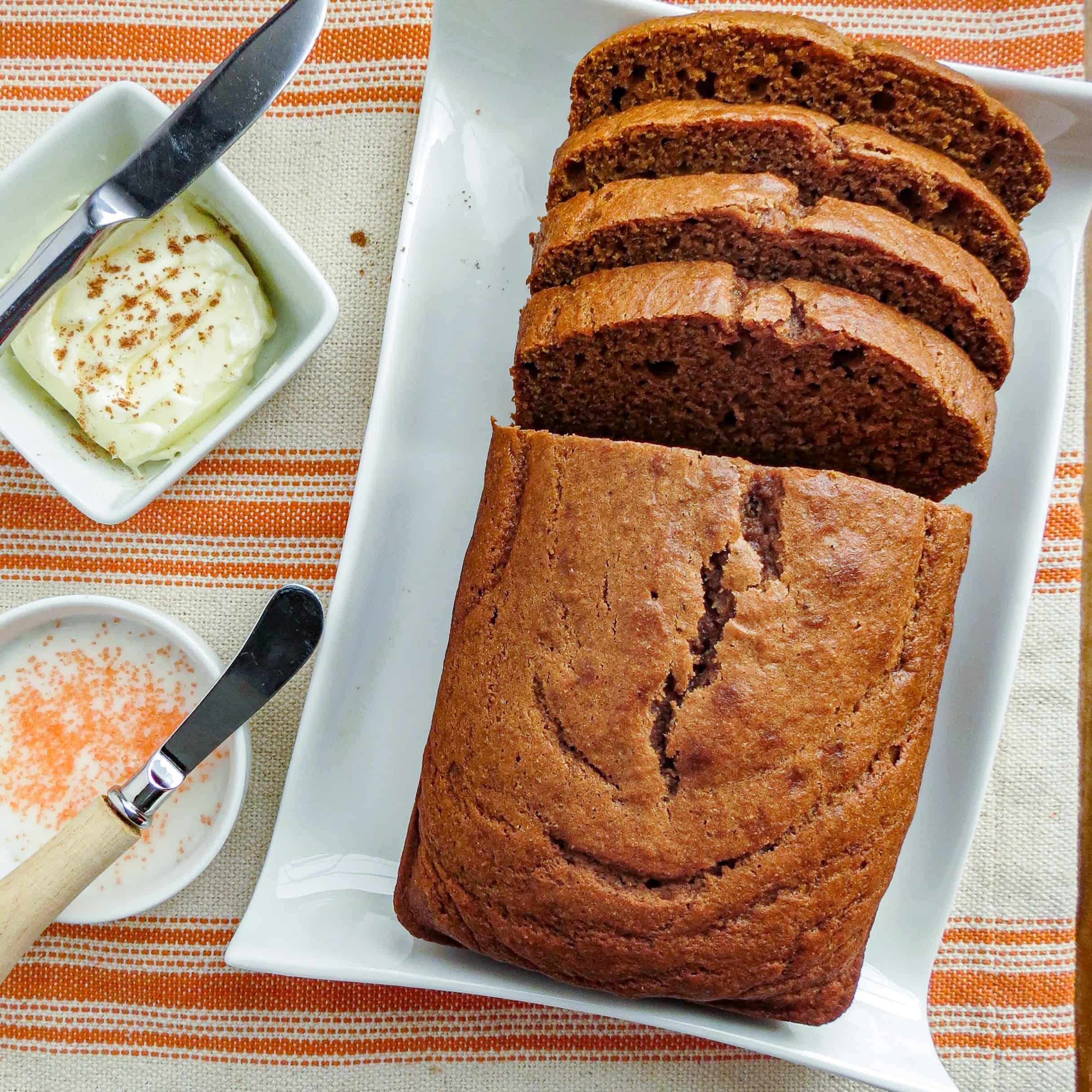Soft Moist Pumpkin Bread
