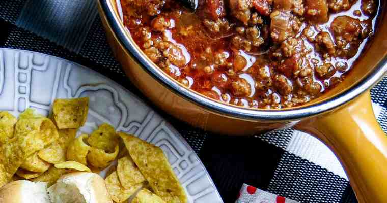 Hot Dog Chili In The Instant Pot