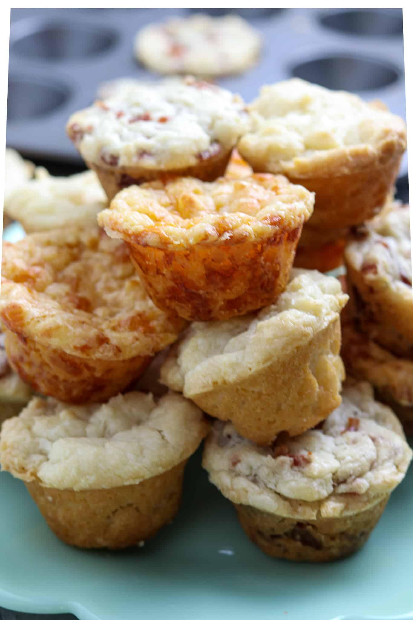 Savory Mini-Muffins, 3-Ways