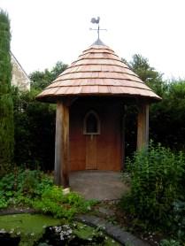 oak buildings, carpenter, timber framing, green oak, garden structure, garden folly