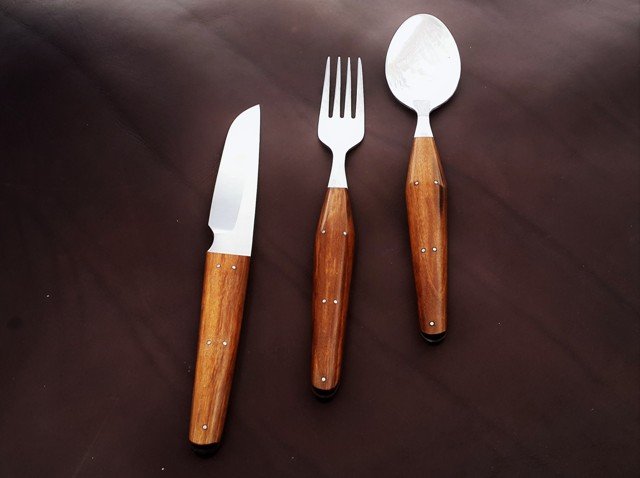 Handmade designer cutlery set
