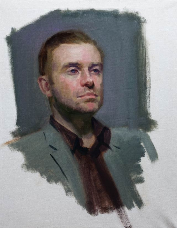 Mark free portrait sky arts portrait artist of the year award