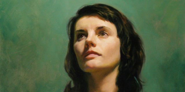 Traditional Portrait, portrait painting techniques by louis smith
