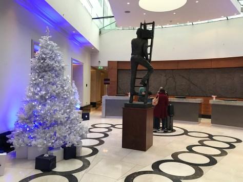 Conrad London lobby