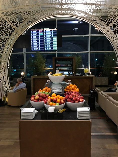Lounge Istanbul fruits