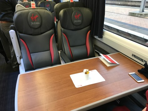 first class table