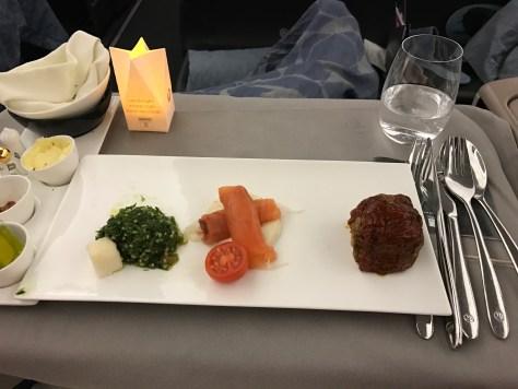Turkish dinner appetiser