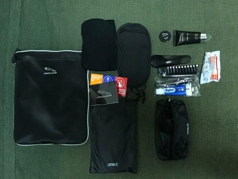 Turkish business Jaguar amenities bag