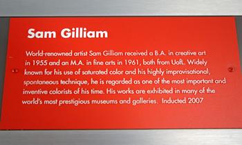 gilliam plaque
