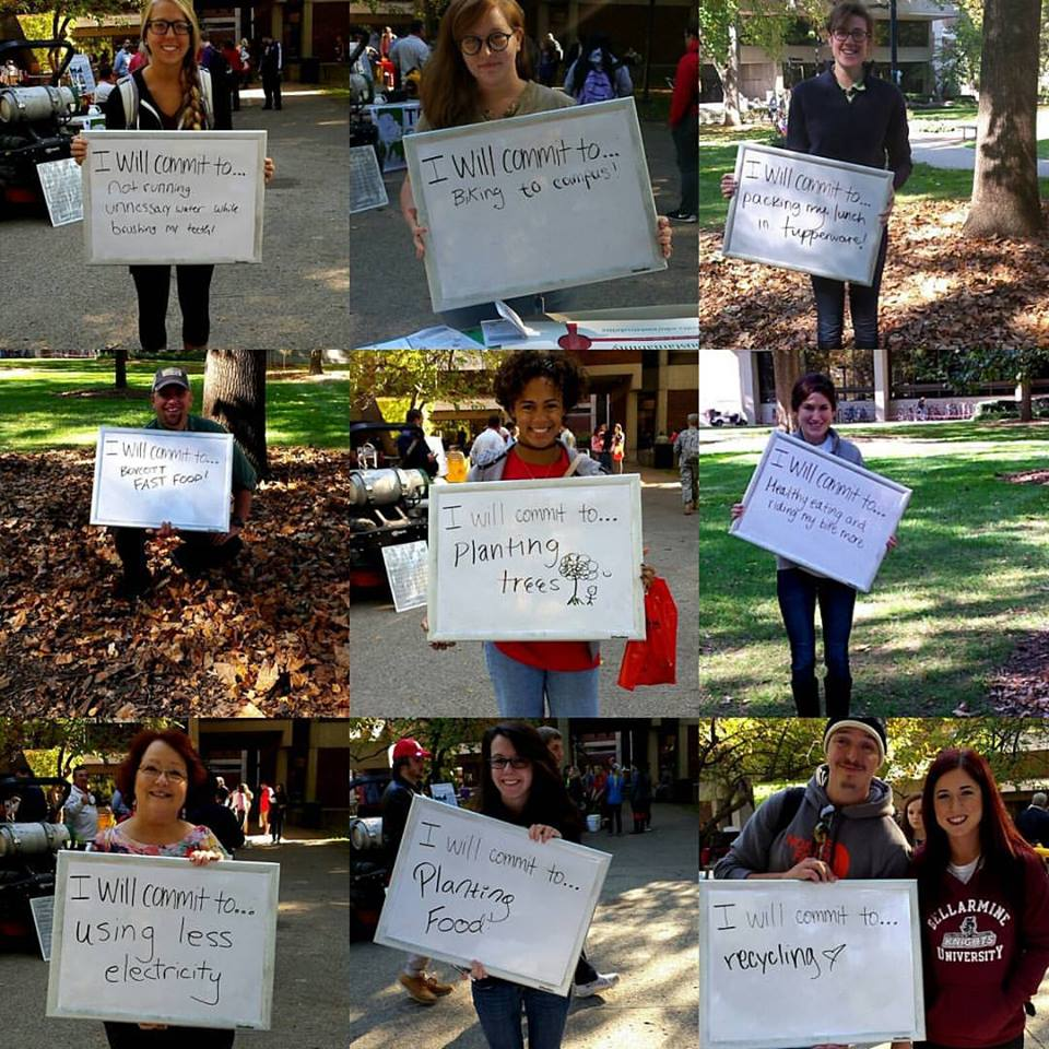 I Commit To... Campus Sustainability Day 2015