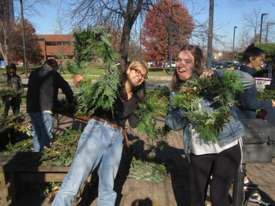 Garden Interns: Avalon Gupta VerWiebe & Ellie Miller