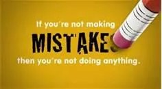 Don't Let Mistakes Leave You Frozen With Fear