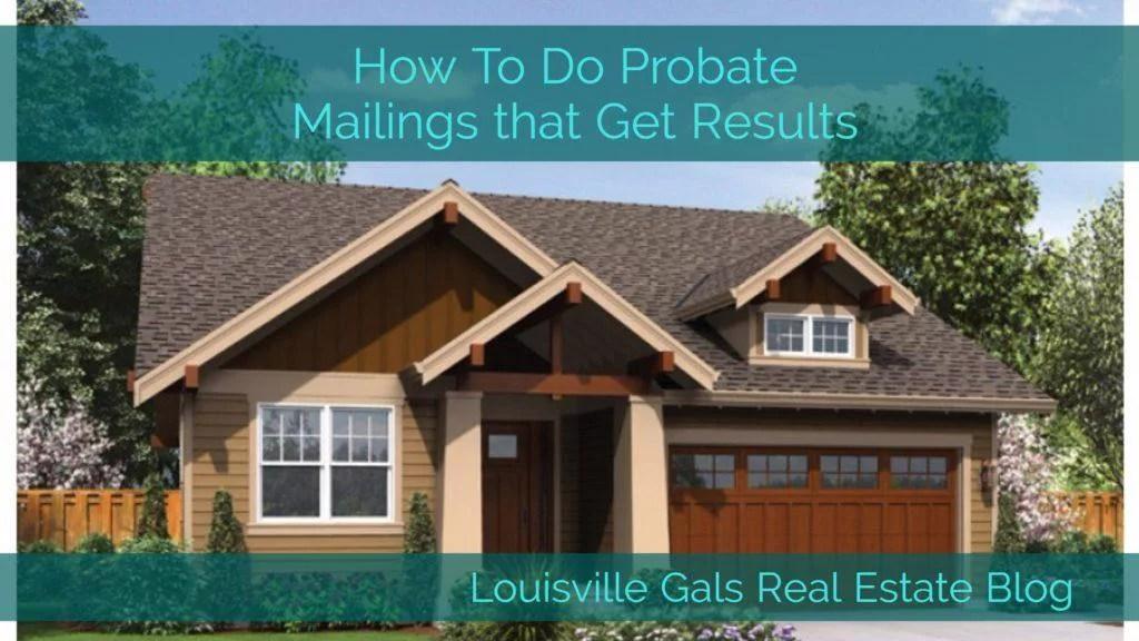 probate mailings