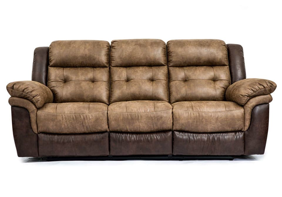 Hudson Bonanza SiltBonanza Sable Reclining Sofa Louisville Overstock Warehouse