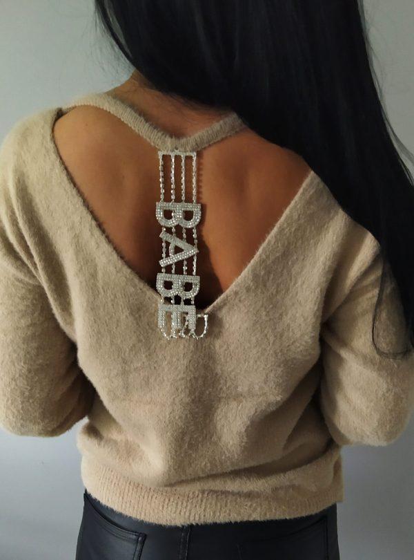 Sweterek BABE beżowy Lou Le Li