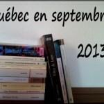 Québec en septembre