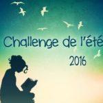 Challenge de l'été 2016