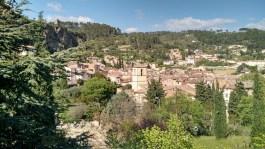 Cotignac view