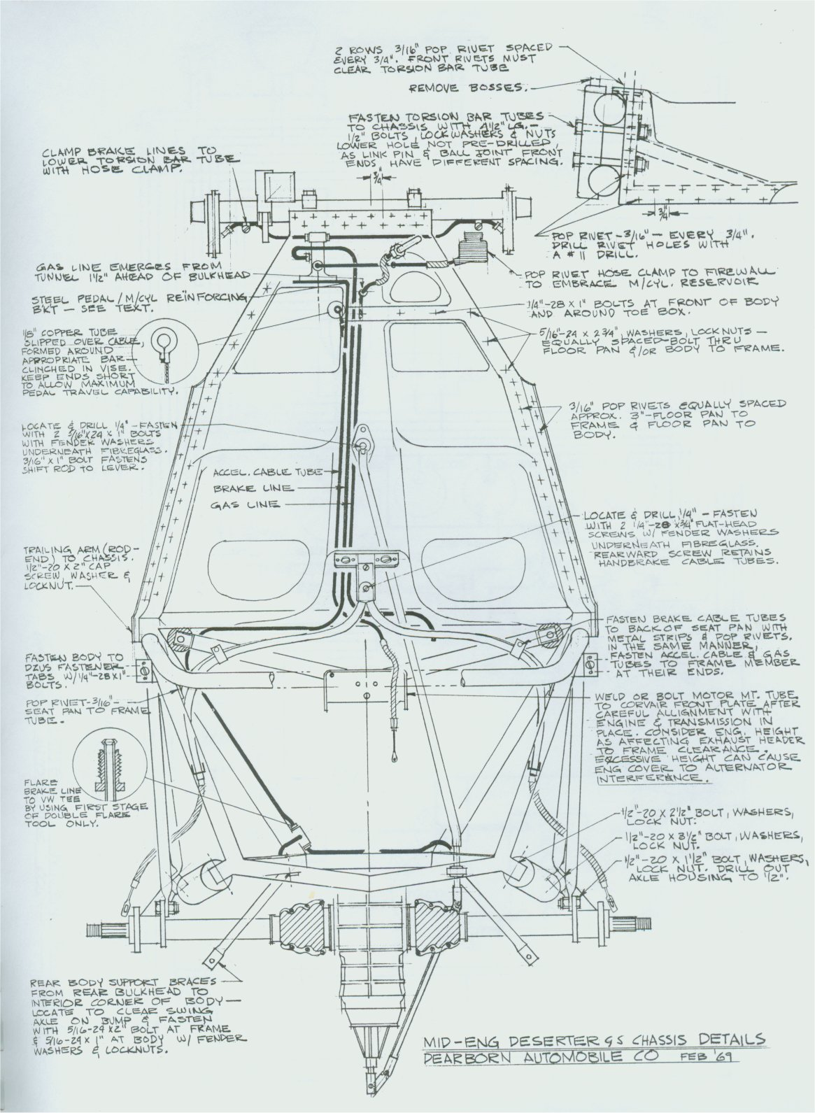 Diagrams Of Chevrolet Chassis