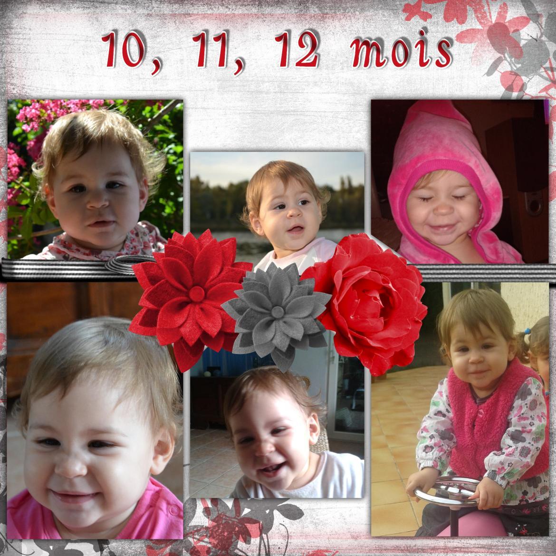 12 premiers mois de mouflette