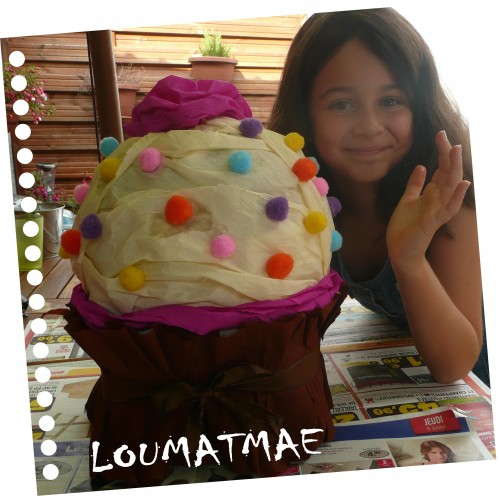 pinata forme cup cake