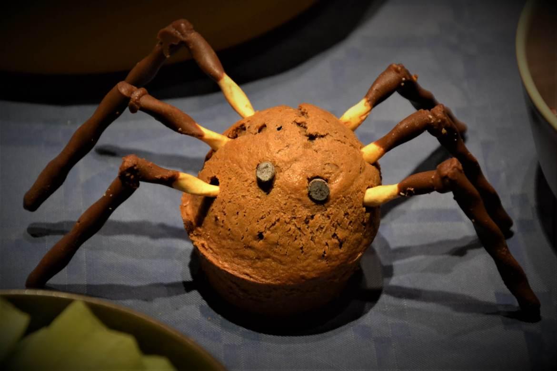 muffin araignée pour halloween
