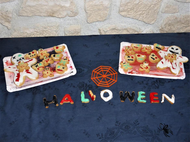 sablés décorés hallowen