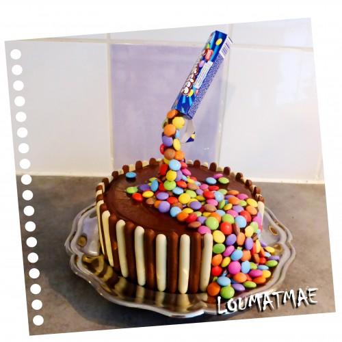 Gâteau effet suspendu Gravity Cake