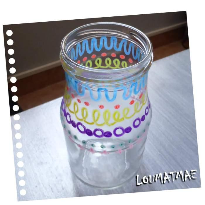 Feutres décor GIOTTO sur verre