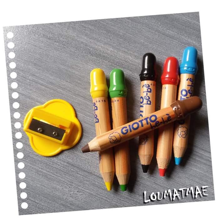 Maxi crayons Giotto be-bè