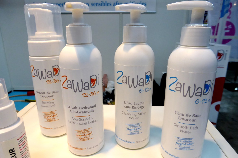 2 gammes de soin Zawadi