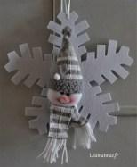 flocon bonhomme de neige de chez la Foire Fouille